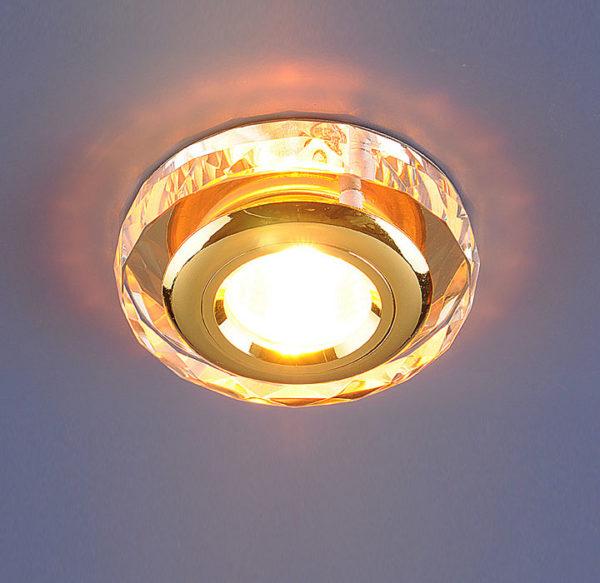 f37126576c59ebcf6cdb49c11a288340 600x583 - встр. точечный светильник Elektrostandard 1056 зеркальный/золото