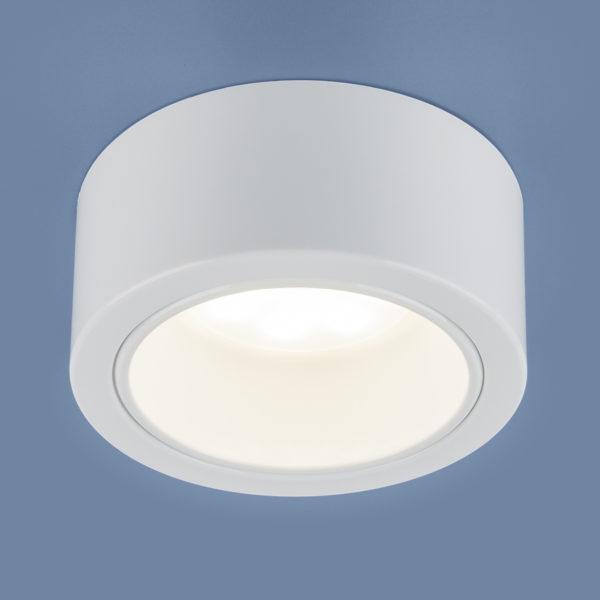 f4439d48612e40e1ad07a9c8797badeb 600x600 - Накладной точечный светильник Elektrostandard 1070 GX53 WH белый