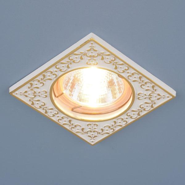 f5777897b39ac643f03b658b08ac0e2b 600x600 - встр. точечный светильник Elektrostandard 120071 белый/золото