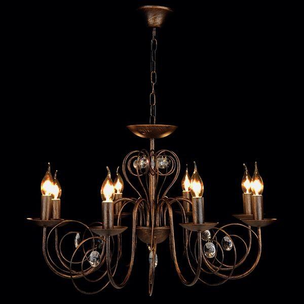 f8ac3d9b12f9a15e8afebd9024c4755f 600x600 - Люстра подвесная Eurosvet 60018/8 черный с золотом