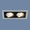 f97d0be51ca7b1ebb1f46019363c6407 100x100 - встр. точечный светильник Elektrostandard 1031/2 MR16 SL/BK серебро/черный