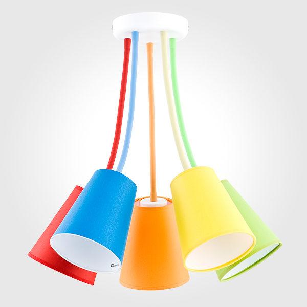 fa58af02141eebf852ab798572d59ee7 600x600 - Люстра потолочная TK Lighting 2107 Wire Colour
