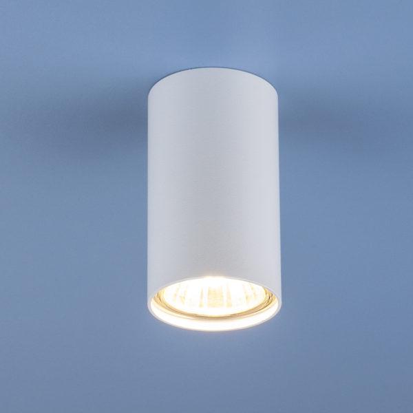 fc6ed744909bfd2b2dd3fe89c8ea70d3 600x600 - Накладной точечный светильник Elektrostandard 1081 (5255) GU10 WH белый