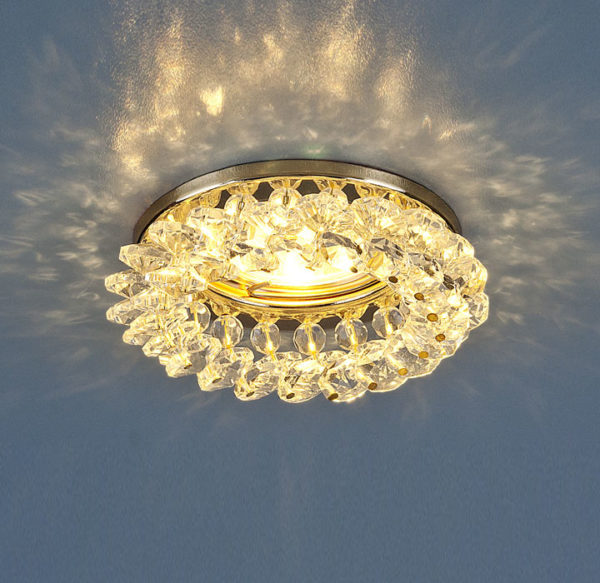 fe9b14b535720efdecffe06d883f4917 600x583 - встр. точечный светильник Elektrostandard 206 золото/прозр.