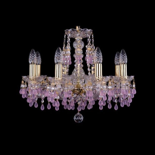 ff0f53fe823af325f78534df2eac277b 600x600 - Люстра подвесная Bohemia Ivele Crystal 1410/8/160 G V7010