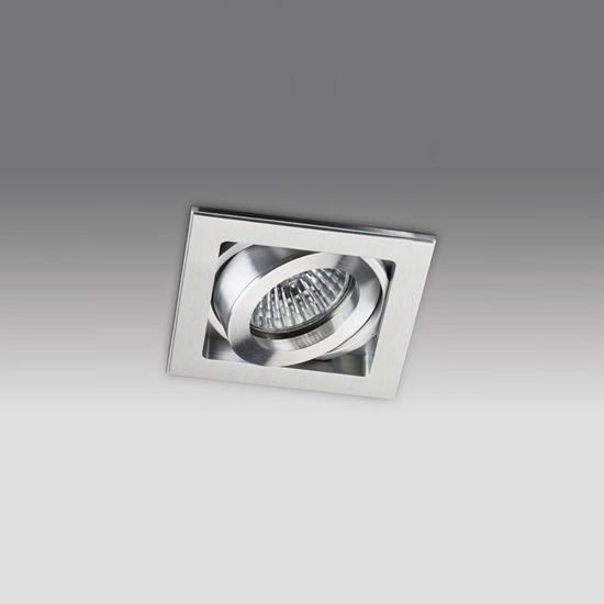 0600029678009ba3576ebcc5c3a1c180 - встр. точечный светильник ITALLINE QANA 1L alu
