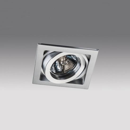147133603a355d7ce8689595884aa3f9 - встр. точечный светильник ITALLINE QANA 1XS alu