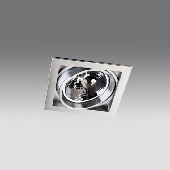 3f64fc3e06a098a36a377f36a3248ce6 - встр. точечный светильник ITALLINE QANA 1DS alu