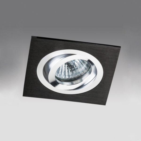 647d919bb7914e501a949909e3125e35 600x600 - встр. точечный светильник Megalight SAG103-4 black/silver