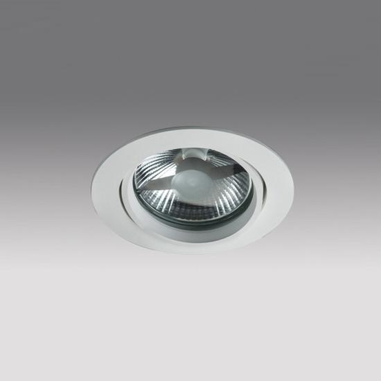88496886439f815dcd3103b8006eeb41 - встр. точечный светильник ITALLINE QANA 1DR white
