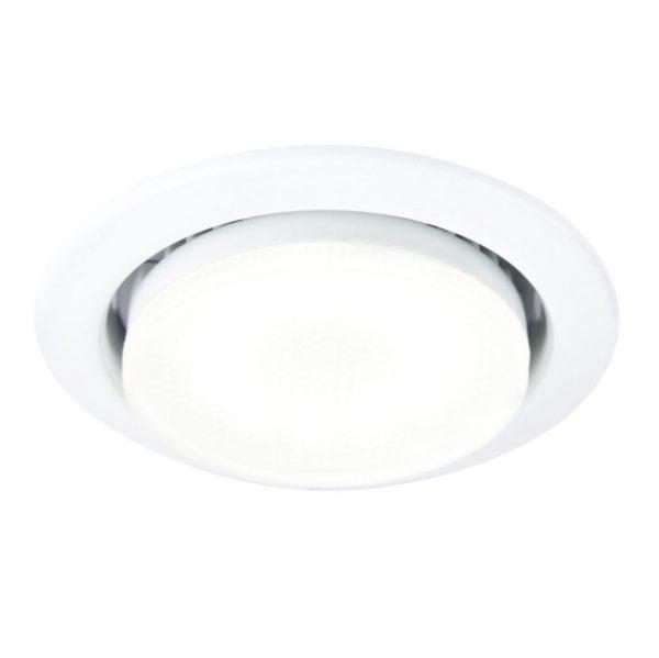 ac7a0bc5199867df40274a06a1f8b80a 600x599 - встр. точечный светильник General GCL-GX53-H38-W белый