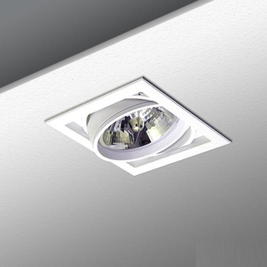 bb0533dec8e9673f63ec1255afaf716e - встр. точечный светильник ITALLINE QANA 1DS white