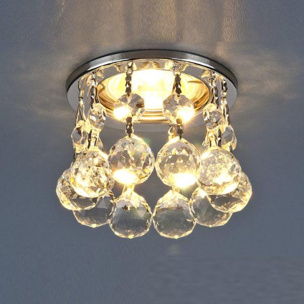 c04a436ec23d3f8bed98c93815c85da4 600x600 - встр. точечный светильник Elektrostandard 2051-C хром/прозр.