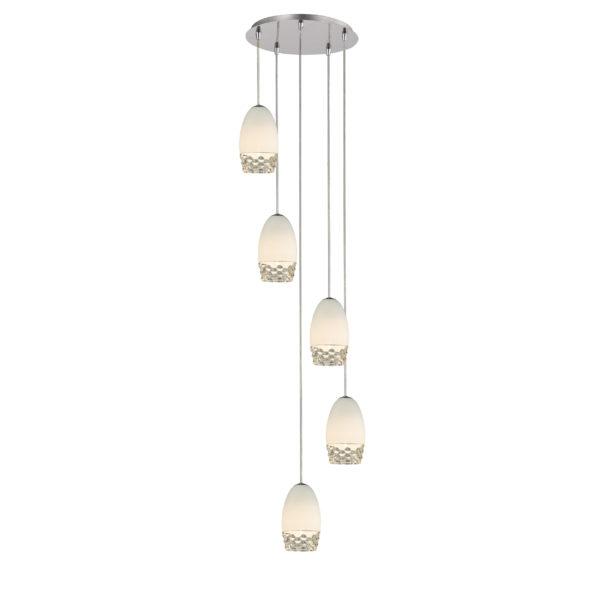 d51afa333e6051a680aa0a353b5b6ab2 600x600 - Подвесной светильник Vestini MD1510-5B White