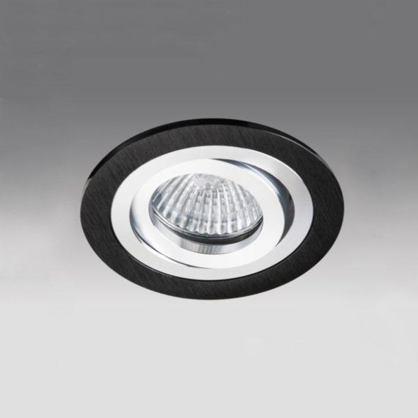 e8ce290587a110f30857b21e92d6fe9d 600x600 - встр. точечный светильник Megalight SAC021D-4 black/silver