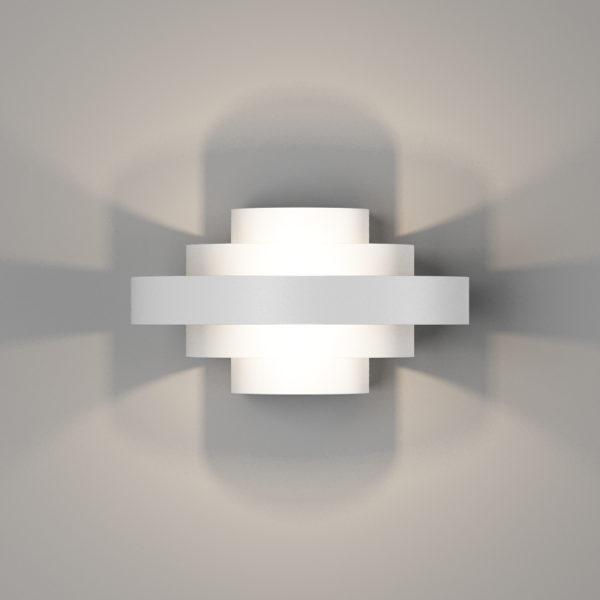 022eb9673d30cfe26b6babc7a06b3c38 600x600 - Настенный светильник VIANA, мат. белый, 6Вт, 3000K, IP20, GW-5809-6-WH-WW