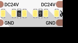 03ee8321bdd1fec382a9a0d2b0ed8132 300x164 - Лента светодиодная LUX, 2216, 300 LED/м, 20 Вт/м, 24В, IP33, Теп.белый (3000K)