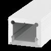 07fdf0c5259786bc20f9ef2463a5e469 100x100 - Накладной алюминиевый профиль LS.1613 белый,  для однорядной ленты