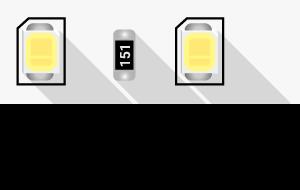 0a9d3e8541423d39b514ae3844f6ec00 300x190 - Лента светодиодная ПРО 2835, 80 LED/м, 7,2 Вт/м, 24В , IP20, Цвет: хол. белый