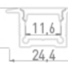0b77944f8b3e06706f094126ce6572d9 100x100 - встр. алюминиевый профиль LE2613