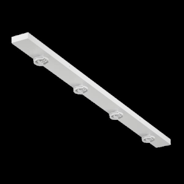0f7d478e90fab84399b05cb569b4acfe 600x600 - Крепление сменное М14 для светильников MINI VILLY, поворот. наклад. четверное, цвет белый