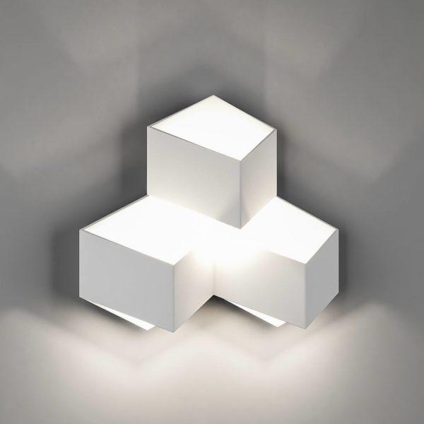 1c60e50d5e3367e1f8d78ff1382abe7a 600x600 - Бра декоративное PALMIRA, белый, 9Вт, 4000K, IP20, GW-1101-3-9-WH-NW