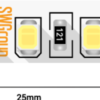 1ccd620fe8b0be05feb38a535d628649 100x100 - Лента светодиодная стандарт 2835, 120 LED/м, 12 Вт/м, 12В , IP20, Цвет: Теп.белый