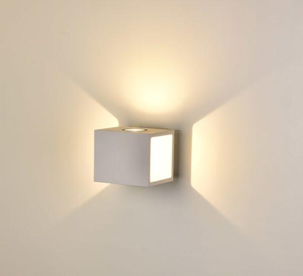24896f5736d95e7247c2022adb7fedaf 600x547 - Настенный светильник KUB, белый, 10Вт, 3000K, IP54, LWA0100A-WH-WW