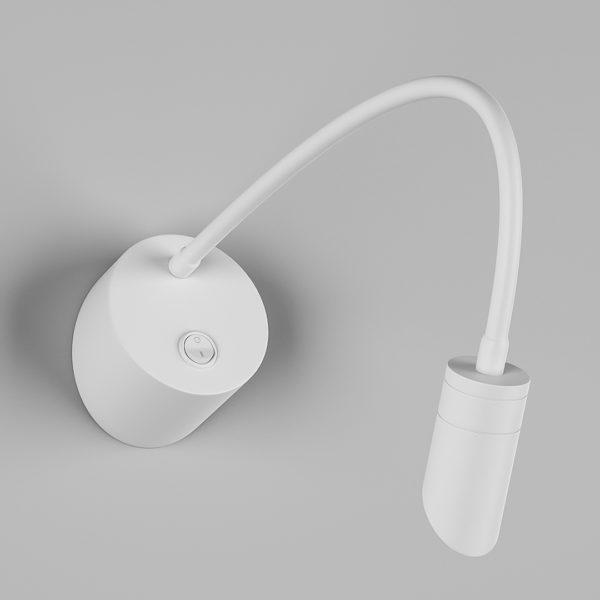 2666665ea96c99cbf5287f632591e680 600x600 - Настенный светильник BED, белый, 3Вт, 3000K, IP20, BQ003103-A-3-WH-WW