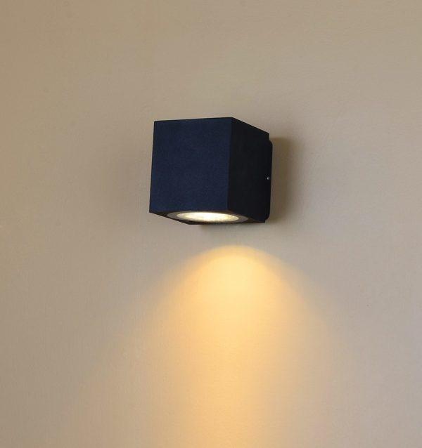 27c52a474e2be606dd8fcf00a6de4f63 600x638 - Настенный светильник WELLS, черный, 12Вт, 3000K, IP54, LWA0150A-BL-WW