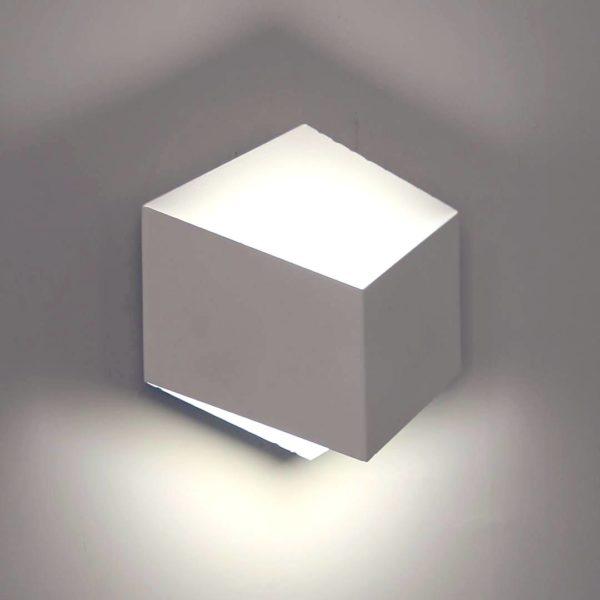 2e285f65df218caa805c543cf3e3a616 600x600 - Бра декоративное PALMIRA, белый, 3Вт, 3000K, IP20, GW-1101-1-3-WH-WW
