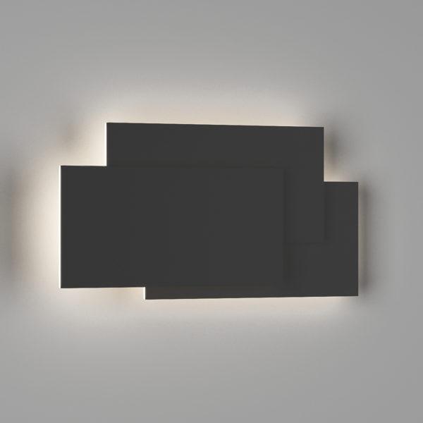 2ed746d9aeaa40a25187b209aade6752 600x600 - Настенный светильник SHADE, черный, 12Вт, 3000K, IP20, GW-6809-12-BL-WW