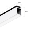 2f1c649edd87be623c557b5ab27addde 100x100 - Алюминиевый профиль для стеклянных полок PS.3452