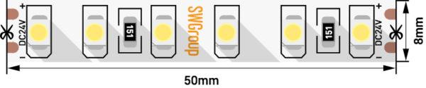 300e773ad1a1b9044337b710df82f95a 600x125 - Лента светодиодная стандарт 3528, 120 LED/м, 9,6 Вт/м, 24В , IP20, Цвет: Теп.белый
