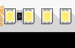 3f18fd8f775ec4cdba816a462bdf361e 300x193 - Лента светодиодная ПРО 2835, 168 LED/м, 17,3 Вт/м, 24В , IP20, Цвет: хол. белый
