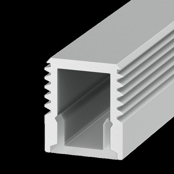 45371c468280f9713ae3d077538710c4 600x600 - Накладной алюминиевый профиль LS.0709 для 5мм ленты