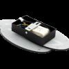 4ce7ba70fbb6533675768ffda6f2c2c6 100x100 - Настенный светильник O-SHADE, черный, 12Вт, 3000K, IP20, GW-6809R-12-BL-WW