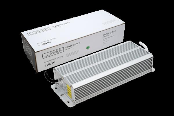 4fa03fba9a99d06d80586a868dc3ce9f 600x400 - Блок питания для светодиодной ленты LUX влагозащ., 24В, 200Вт, IP67