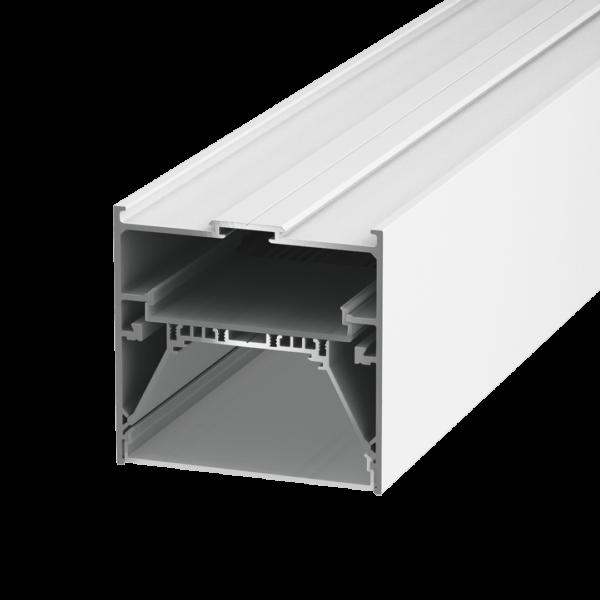 508abf9653a38a0aed837e5ec99a2c71 600x600 - Подвеснойвстр./накладной алюминиевый профиль L9086, белый