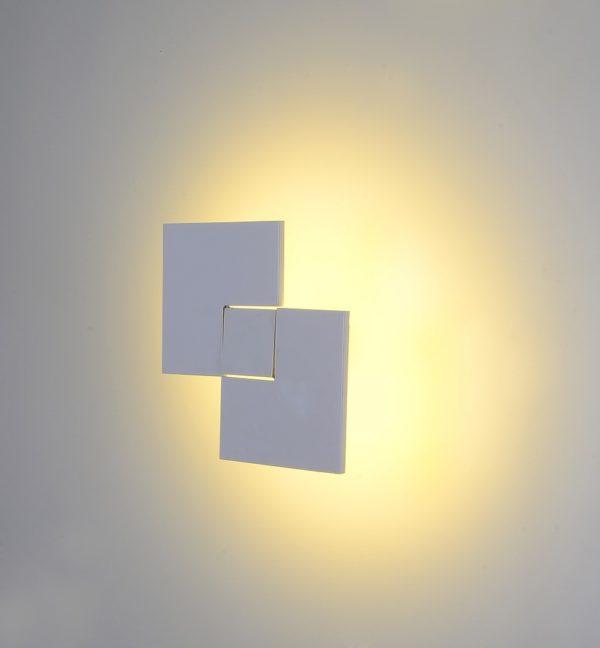 519661b1c9f7ffd2c4128524e00b4d1f 600x648 - Настенный светильник , белый, 24Вт, 3000K, IP20, C0108A-WH-WW