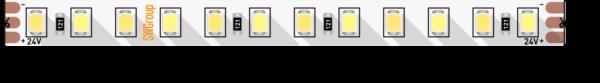 52e3812620c6e775efb792345eac35b7 600x83 - Лента светодиодная ПРО 2835, 120 LED/м, 14,4 Вт/м, 24В , IP20, Цвет: Теп.белый+хол. белый