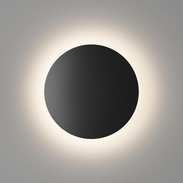 54eaf52757bc7bad3440e2b2c1c54a3c 600x600 - Настенный светильник CIRCUS, мат. черный, 12Вт, 3000K, IP54, GW-8663S-12-BL-WW