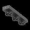 5b6c9ddf33e6a2aa3852fdfffe660a14 100x100 - Крепление сменное М13 для светильников MINI VILLY, поворот. наклад. тройное, цвет черный