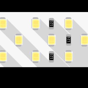 5dcdc0f1ff78ff4892fed4aff8a6926c 300x300 - Лента светодиодная ПРО 2835, 252 LED/м, 24 Вт/м, 24В , IP20, Цвет: Нейтральный белый