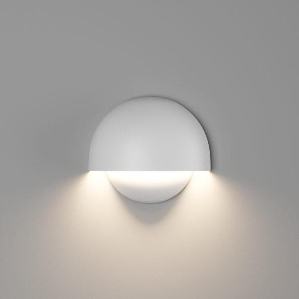 66cb74ed89dbe3028050a4c123ada423 600x600 - Настенный светильник MUSHROOM, мат. белый, 10Вт, 4000K, IP54, GW-A818-10-WH-NW