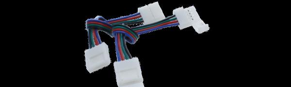 6b9a8247bcc31f9f669862bd73fe24b2 600x179 - Коннектор для ленты RGB  двуxсторонний (Ш 10 мм,L провода 15 см )