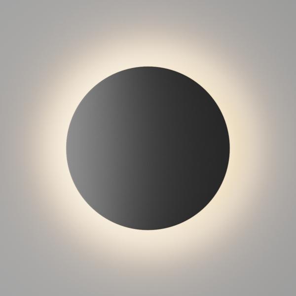 6c02f15516b557e6fbb1d88b0d88bcf7 600x600 - Настенный светильник CIRCUS, мат. черный, 16Вт, 3000K, IP54, GW-8663L-16-BL-WW