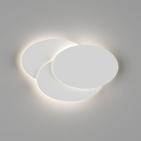 6d74cecf970084e1626bd5107e5f1df0 600x600 - Настенный светильник O-SHADE, белый, 12Вт, 3000K, IP20, GW-6809R-12-WH-WW