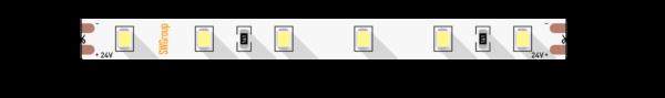 6f17b2d786673e5e1d8163d328429751 600x89 - Лента светодиодная ПРО 2835, 60 LED/м, 4,8 Вт/м, 24В , IP20, Цвет: хол. белый