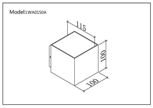 7051e13384a9df117e7ef1f46aa81bde 600x423 - Настенный светильник WELLS, белый, 12Вт, 3000K, IP54, LWA0150A-WH-WW